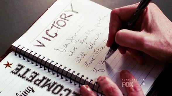 01×12. Свои коварные планы Сью записывает в дневник